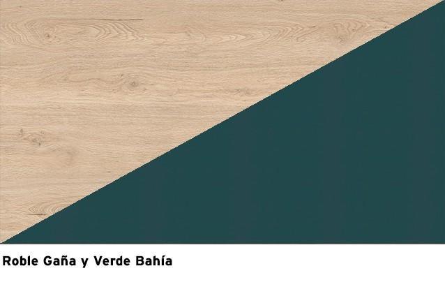 Roble Gaña + Verde Bahía
