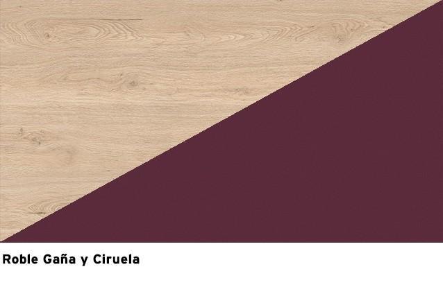 Roble Gaña + Ciruela